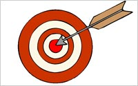 Bulls-Eye-Arrow
