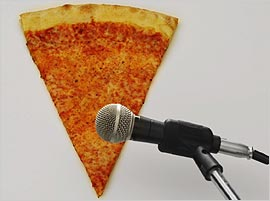 Pizza-Microphone