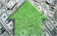 Arrow-over-money