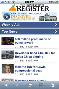 The-Orange-County-Register-App