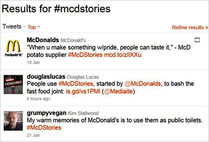 MCD-Tweets