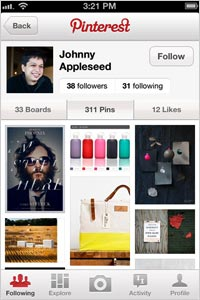 Pinterest-App