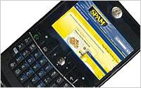 Spam-on-Smartphone