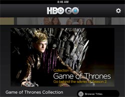 HBO Go iPad App Offers Enhanced 'Game Of Thrones' Episodes