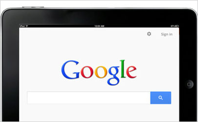 IpadGoogle