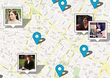 foursquare map