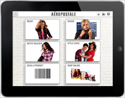 Tablet-Aeropostale