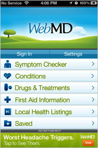 WebMD-App