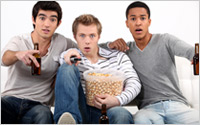 Young-men-watch-TV-Shutterstock-A2