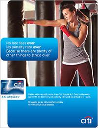 Citi Credit Card Ad