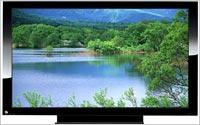 Flatscreen-TV-A